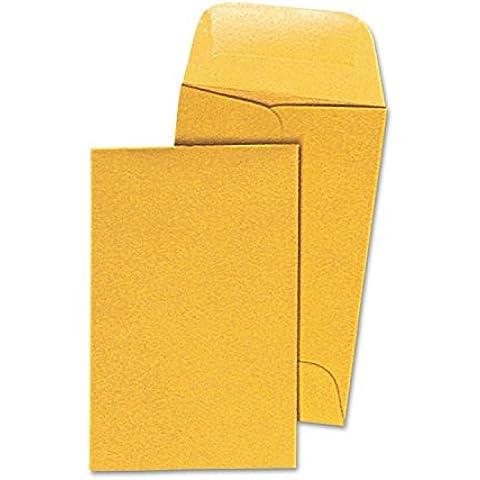 Universal 35300 Kraft Coin Envelope-# 1 - Light Brown-500/caja