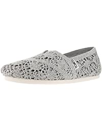Toms Rope Sole 1019B09R - Zapatos para mujer, color negro, talla 38,5
