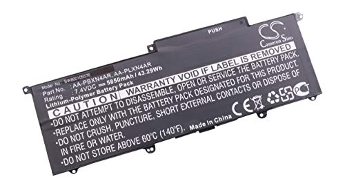 vhbw Batterie 5850mAh pour Ordinateur Samsung NP900X3C-A01CH, NP900X3C-A01CN, NP900X3C-A01FR, NP900X3C-A01IT comme AA-PBXN4AR AA-PLXN4AR.