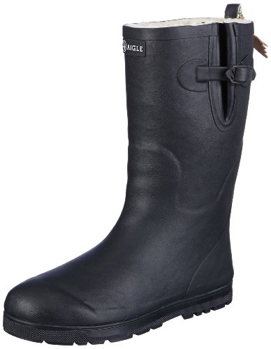 Aigle Unisex Kids' Woodypop Fur Wellington Boots
