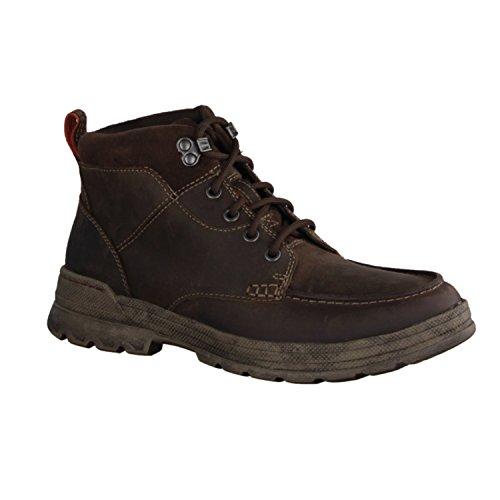 Clarks Détente Homme Boots/Bottes Ryerson Dale en Nubuck Marron