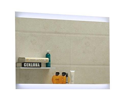 Dr. Fleischmann Specchio del Bagno con Illuminazione LED GS043N Bianco Freddo IP44 (40 x 60 cm)