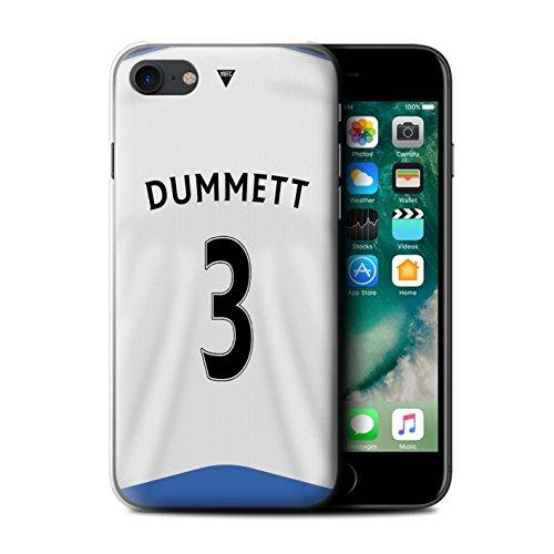Offiziell Newcastle United FC Hülle / Case für Apple iPhone 7 / Sissoko Muster / NUFC Trikot Home 15/16 Kollektion Dummett