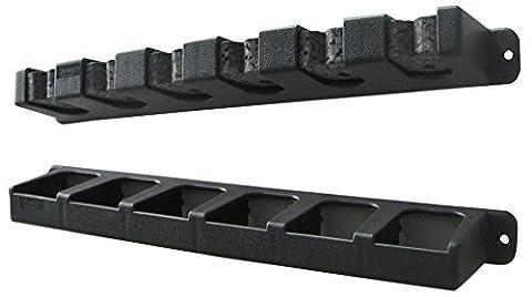 Berkley Vertikal 6Rod Rack–Schwarz