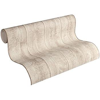 Vlies tapete antik holz rustikal beige grau verwittert for Tapete rustikal