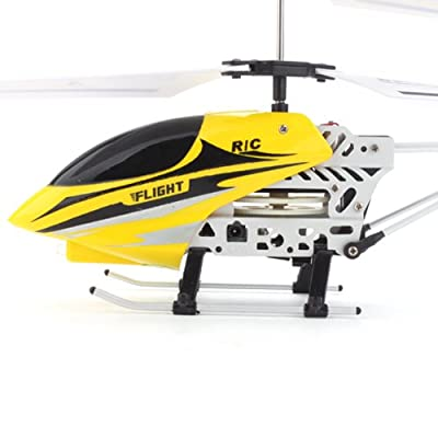 6689-2 Palm Size Gyro 2-Channel LED RC Helicopter with Speed Control HOT