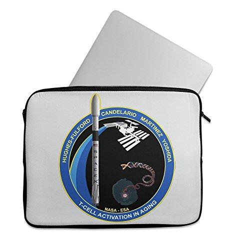 Space X Mission Nasa Hughes Martinez Yoshida Laptop Sleeve Laptop Case Neoprene 11 inch 13 inch 15 inch Macbook Mac Dell Samsung Lenovo