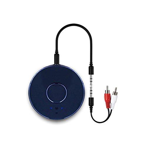 Bluetooth transmisor, yetor 3,5 mm estéreo portátil inalámbrico de audio Bluetooth Transmisor para televisor, ipod, mp3/mp4, usb Fuente de alimentación tx10 (tx10)