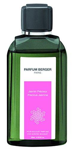 Parfum Berger 6035 Recharge pour Bouquet Parfum Jasmin Précieux Transparent 200 ml