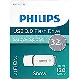Philips FM32FD75B - Memoria USB 3.0 de 32 GB, Color Blanco