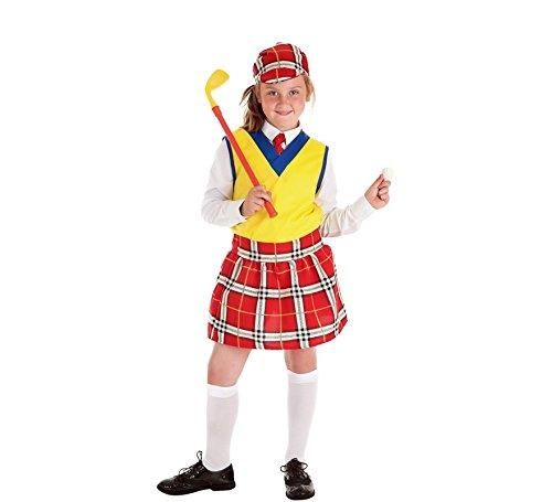 Golf Spieler Kostüm - Zzcostumes Golf Spieler Kostüm für Ein Mädchen