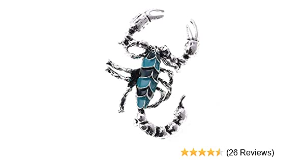 b00123d2f3872 TOOGOO Brooch Scorpion Design Jewelry Fantasy Accessory