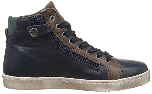 Bisgaard 31804216, Sneakers Hautes Mixte Enfant 601 Blue