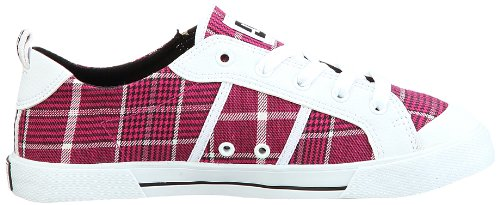 Dc Chaussures Fiona Womens Shoe D0302822, Sneaker Donna Rosa (rose (crazy Pink / White Cyw))