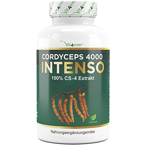 Vit4ever® Cordyceps 4000 Intenso - CS-4 Extrakt