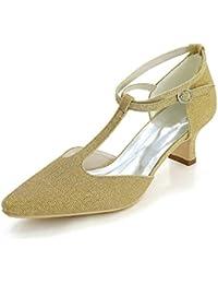 Amazon De 2040894031 Bajo Para es Zapatos Mujer Tacón ZHwrZ4