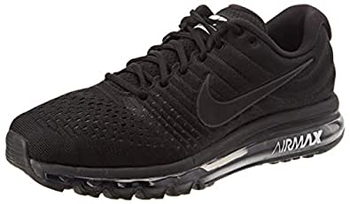 Nike Men's Air Max 2017 Trail Running Shoes Black: Amazon