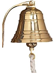A29 Solid Brass Ships Bell / Nautical Bell, Polished Lacquered Finish by A29