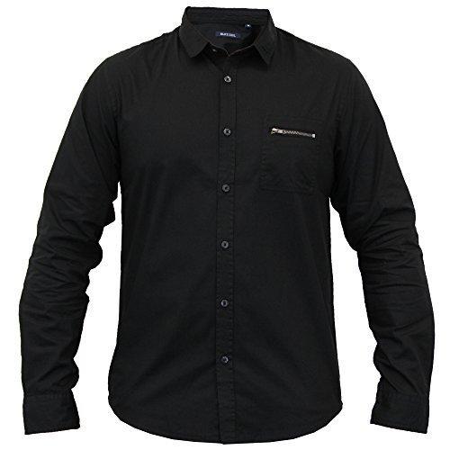 Hommes Décontracté Manches Courtes T-shirt By Smith & Jones Noir - 230CAMUS