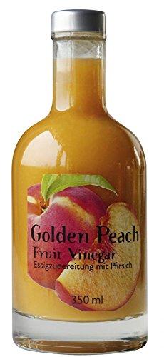 Goldener Pfirsich-Essig - Frucht-Essig-Geschenk-Set - Golden Peach