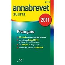 Français séries générale, technologique et professionnelle : Sujets 2011