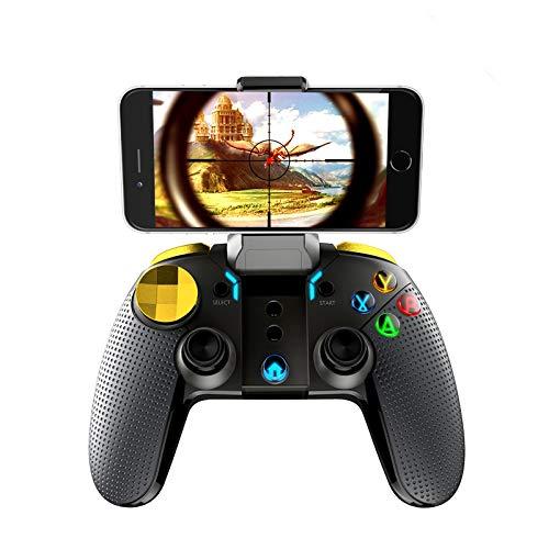 OUYAWEI Wireless Bluetooth Gamepad Multimedia Game Controller Joystick für Spiele Android IOS PC Phone (Filme Ipad Herunterladen)