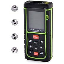 Signstek RZ-E40 40M Mini Digital Laser - Distanzmesser Distanzmessgerät Entfernungsmessgerät Laser-Entfernungsmesser mit Wasserwaage