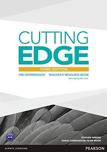 Cutting Edge Pre-Intermediate Teacher's Book (with Resources CD-ROM) (Cutting Edge Pre-intermediate)