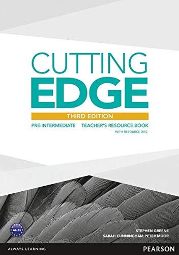 Cutting Edge 3rd Edition Pre-Intermediate Teacher's Book and Teacher's Resources Disk Pack