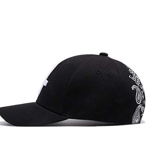 Klassische Baseballmütze New Cross Stitch Embroidered Hat Lässige Baseballmütze im Freien Hut -