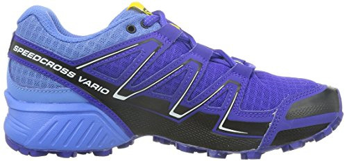 Salomon  Speedcross Vario, Chaussures de trail femmes Violet - Violett (Spectrum Blue/Petunia Blue/Black)