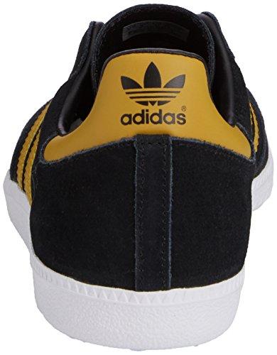 huge discount 84b29 dc863 ... adidas Samba - Zapatillas para hombre, color negro   amarillo, talla 45  1  ...