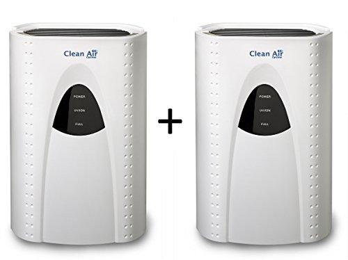 2x Déshumidificateur avec ioniseur CA-703 - Idéal pour 20m² - Déshumidificateur avec ioniseur