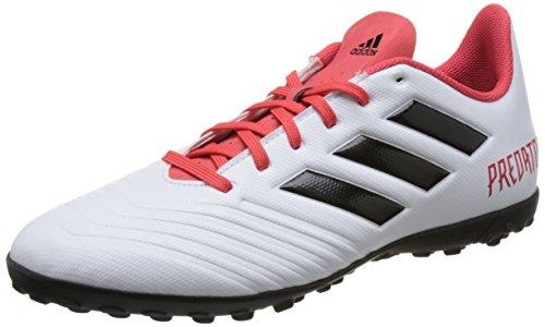 adidas Herren Predator Tango 18.4 TF Fußballschuhe Schwarz (Core Black/ftwr White/solar Red)