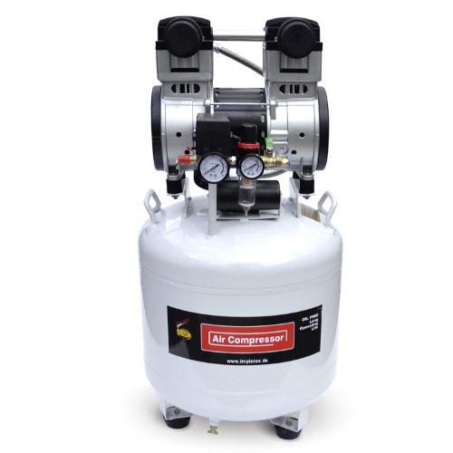 Preisvergleich Produktbild 1500W 2PS Silent Flüsterkompressor Druckluftkompressor 60dB leise ölfrei flüster Kompressor Compressor IMPLOTEX
