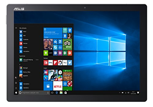 ASUS T304UA-BC003R - 12,6-Zoll-Tablet (Intel Core i5-7200U, 8 GB RAM, 256 GB Festplatte, Intel HD Graphics 620, Windows 10), graumetallic (Asus Windows-8-tablets)