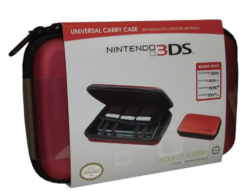 Good Deal - Funda Portátil, Color Rojo (Nintendo 3Ds)