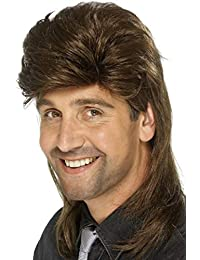 Smiffys Mullet Wig- Adult One size