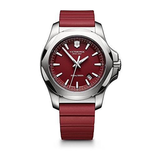 Victorinox Herren-Armbanduhr I.N.O.X. Analog Quarz Plastik 241719.1