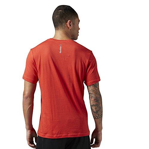 Reebook Stencil T-Shirt RBK Rot