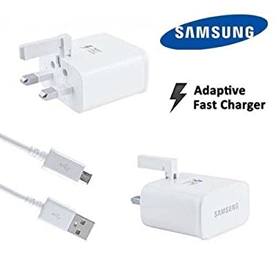 Samsung 2 A Charger and Micro USB Charging Cable - White