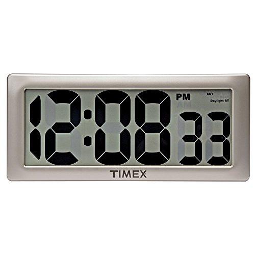 Timex 75071ta234,3cm groß Digital Uhr mit 10,2cm Ziffern und intelli-time - Atomic Digitale Clock Radio