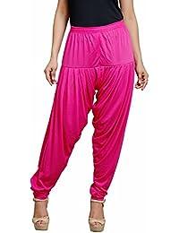 Goodtry Women's patiyala Free Size-Dark Pink