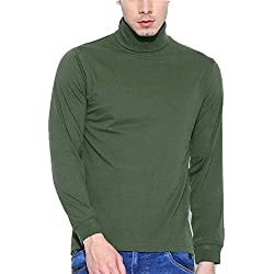 10d8bf02368 Dream of Glory Inc. Men s Cotton Full Sleeve High Neck Sweatshirts for Men  Also in