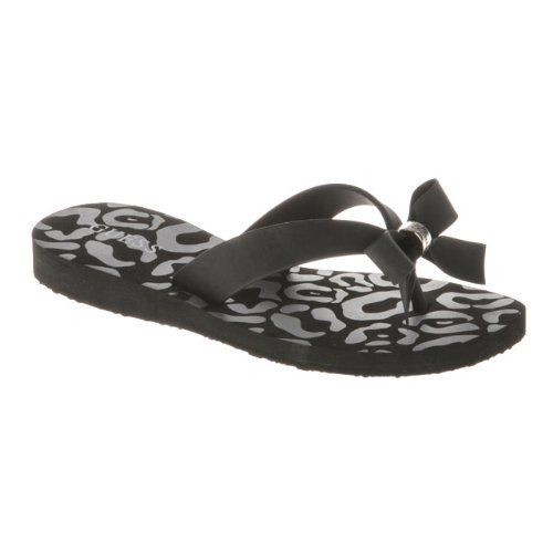 Guess Mädchen Sandalen, Schwarz - Nero (Nero) - Größe: 32 (Kinder Guess Schuhe)