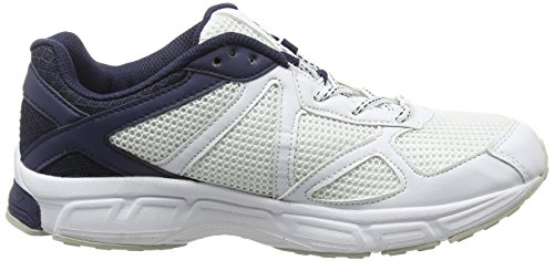 Hi-Tec R200, Chaussures Multisport Outdoor Homme Blanc (white/navy/silver 011)