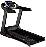 Cockatoo CTM13 (3 HP) DC Motorized Treadmill for Home with Manual Incline, Max Speed 16Km/Hr, Max User Weight