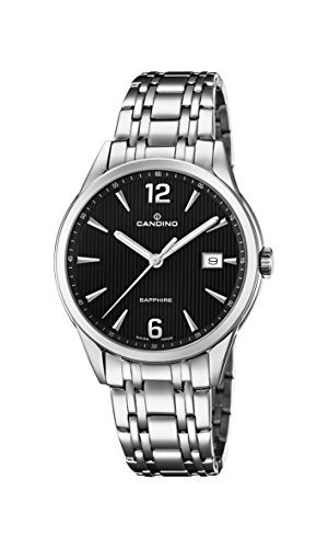 Candino Womens Analogue Classic Quartz Watch with Stainless Steel Strap C4614/4