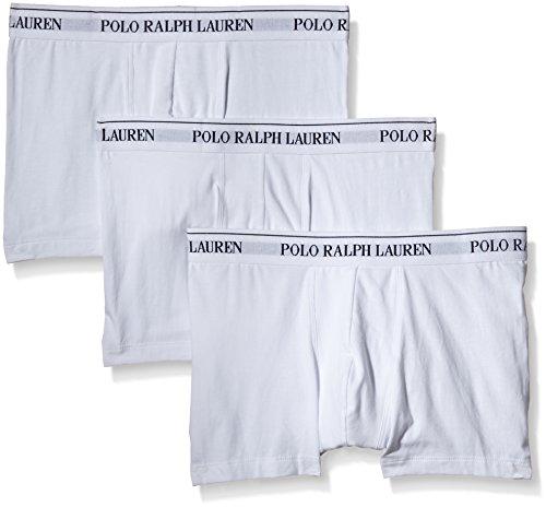 Polo Ralph Lauren Herren Classic Boxershorts, Weiß (3Pk White 001), Medium (erPack 3