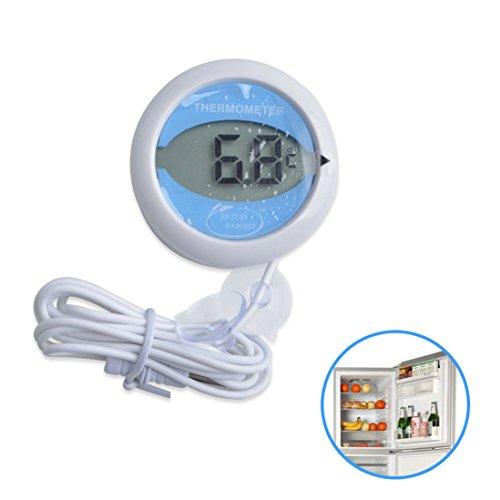 GuDoQi Heißer Verkauf Digital Thermometer Kühlschrank Mit Niedrigen Temperatur Wasserdicht Mit Magnetische Sauger Adsorption Typ